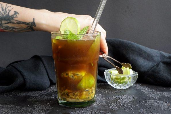 Lecker Zuckerfreier Kaffee Cocktail, ohne Alkohol!