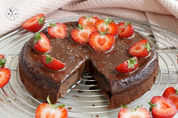 Glutenfreier Schokoladen Kuchen