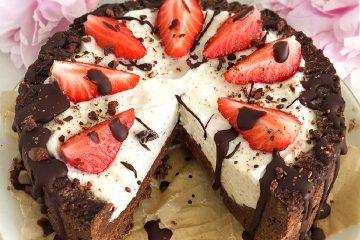 Low Carb Cheesecake - Vegan und Paleo