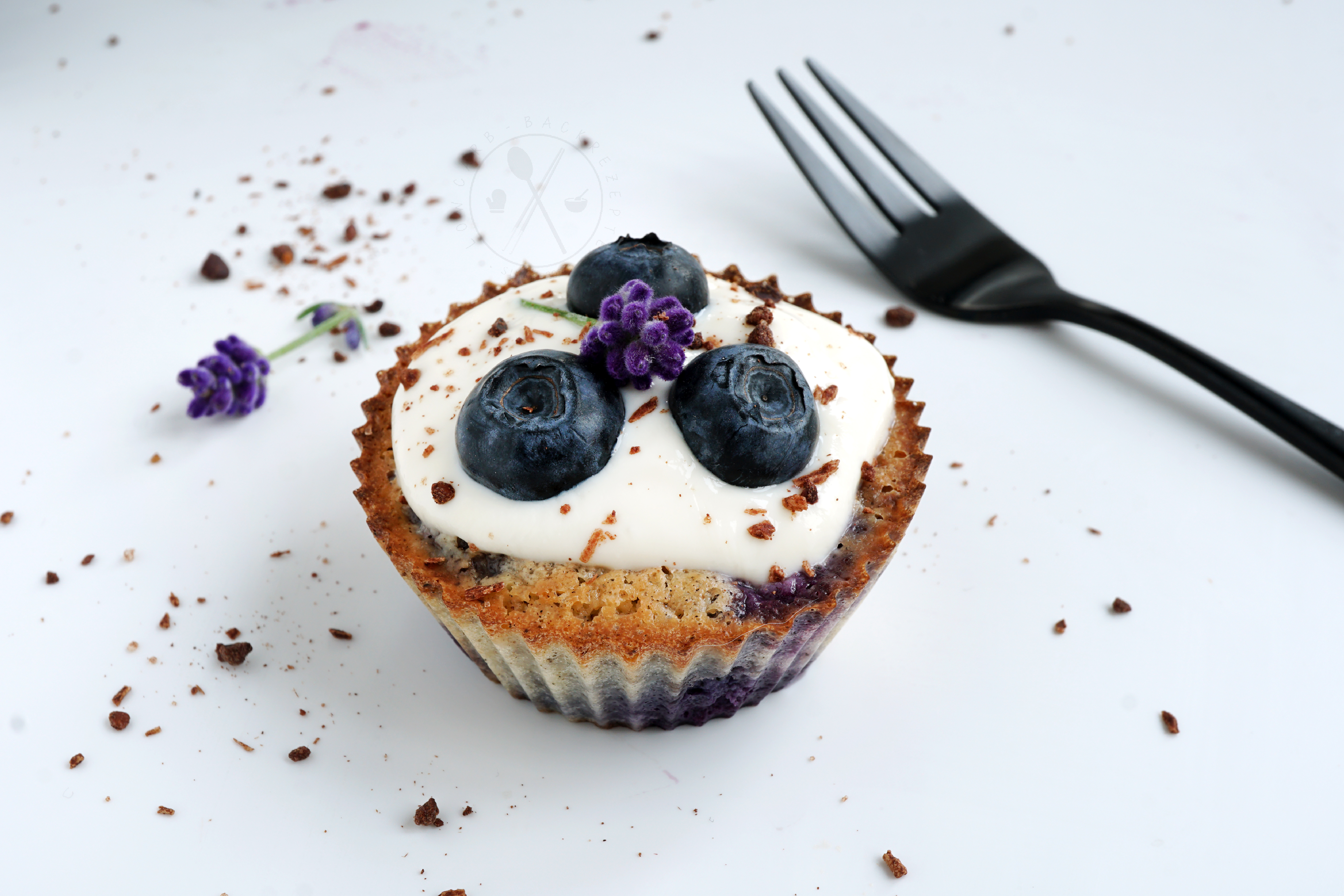 Low Carb Blaubeer-Muffins