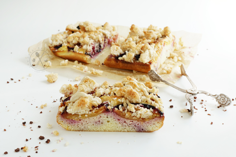 Low Carb Zwetschgenkuchen mit Streusel - Paleo und Ketogen