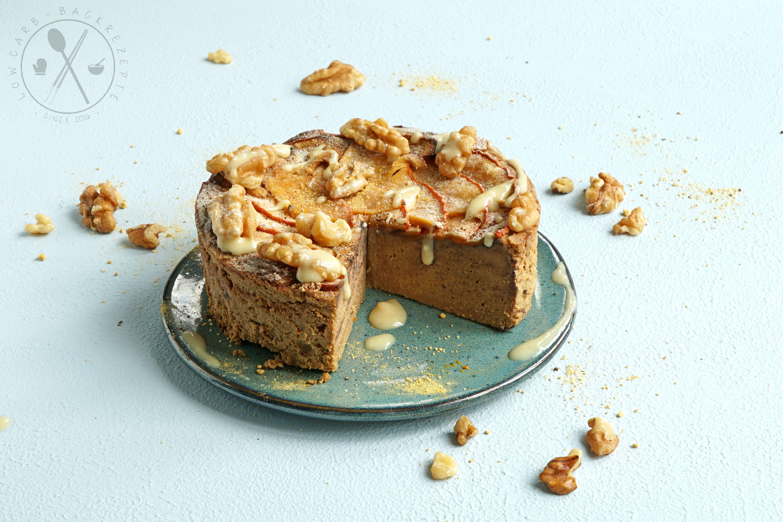 Low Carb Kürbis-Cheesecake