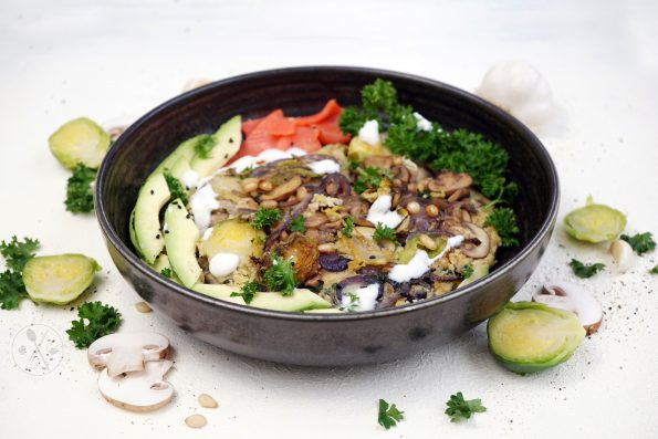 Low Carb Gemüse Omelette - Veggie, Keto & Paleo