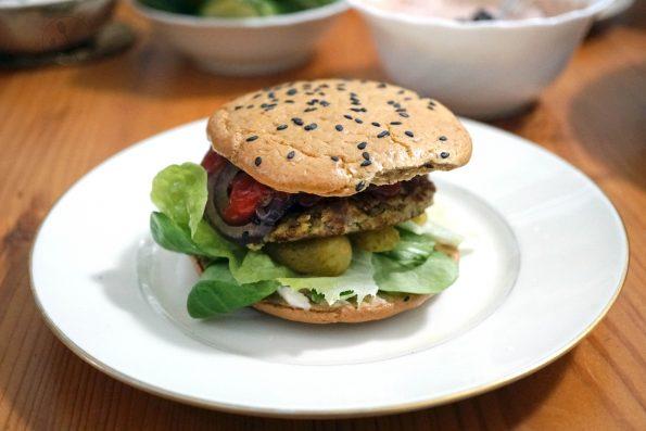 Low Carb Burger Brötchen