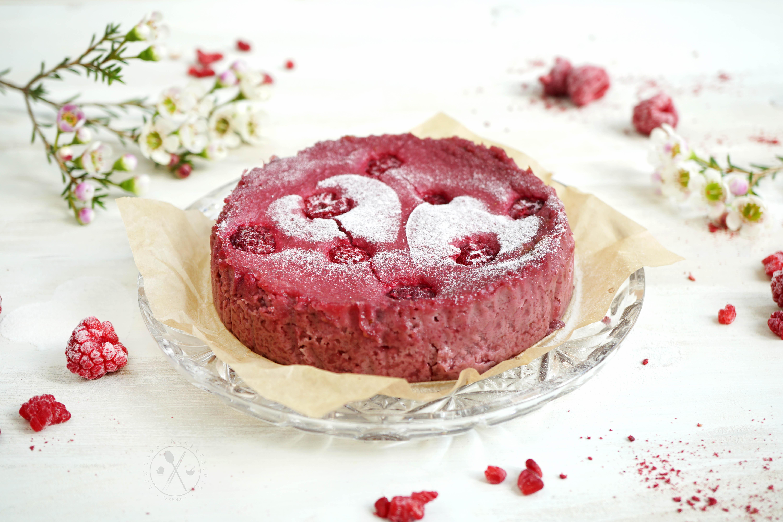 Low Carb Red Velvet Kuchen - ohne Ei, Zuckerfrei, Glutenfrei, Milchfrei & Paleo