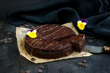 Paleo Brownies Kuchen