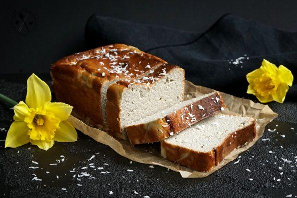 Low Carb Quarkbrot - ohne Quark Glutenfrei, Sojafrei, Milchfrei und Paleo