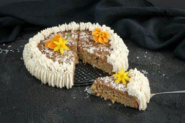 Low Carb Paleo Möhrenkuchen