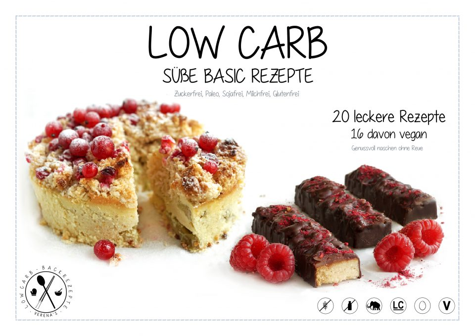 Low Carb-Backrezepte - E-Book