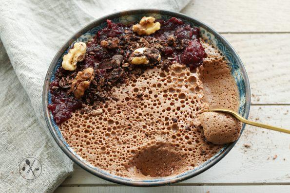 Kollagen Kaffee Mousse - Low Carb Paleo
