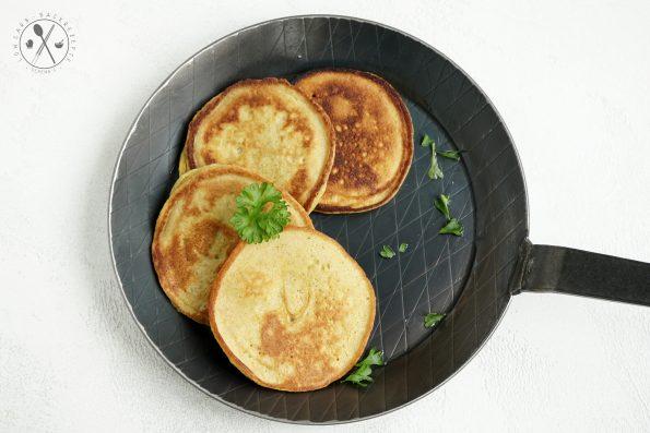 Paleo Pancakes - Herzhaft
