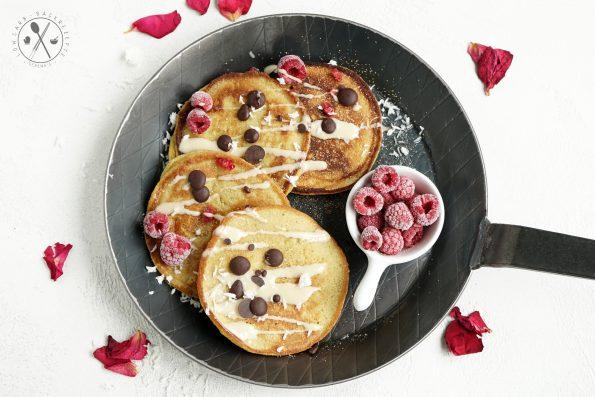 Paleo Pancakes - Süß