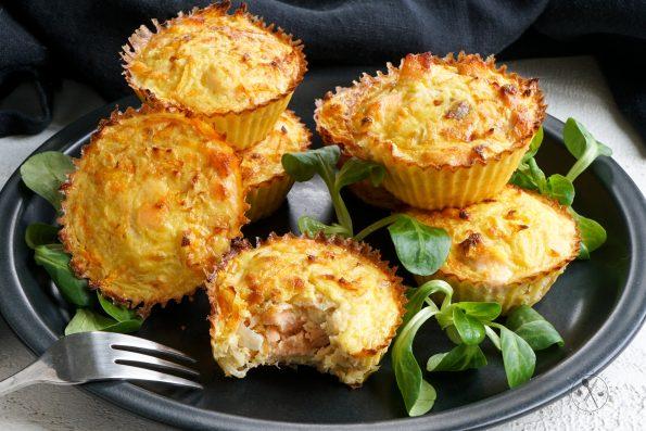 Low Carb Gemuese Muffins