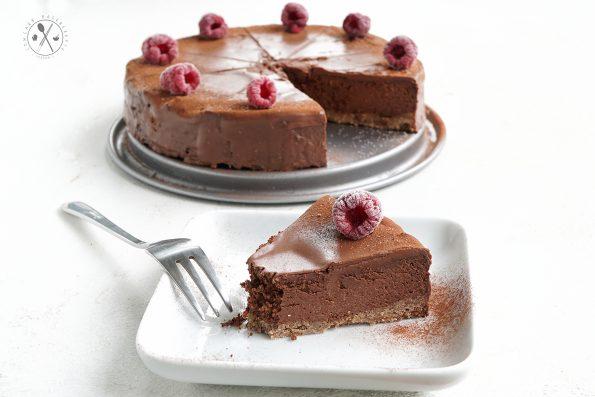 Keto Schoko-Nugat Kuchen