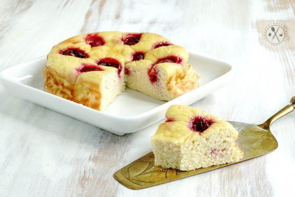 Low Carb Sauerkirsch-Kuchen