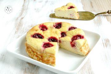 Keto Sauerkirsch-Kuchen