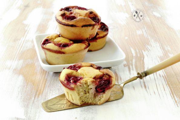 Low Carb Sauerkirsch-Muffins