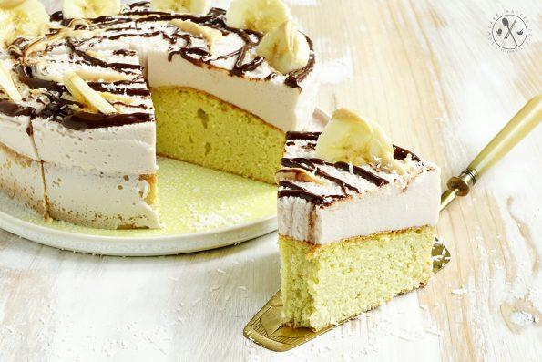 Low Carb Bananen Torte