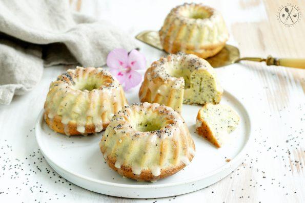 Low Carb Mohnkuchen Gugelhupfe