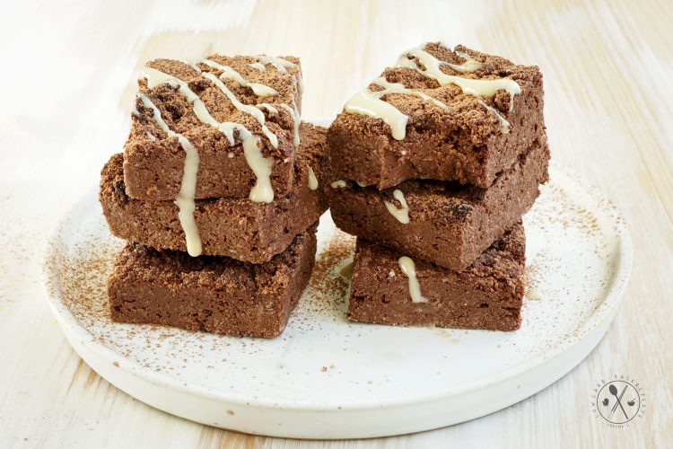 Vegane Low Carb Brownies