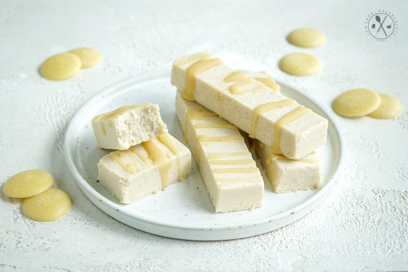 White Chocolate Low Carb Riegel