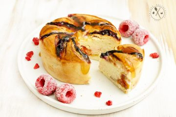 Low Carb Zwetschgen Cheesecake - Paleo