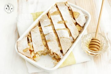 Low Carb Apfelstrudel Lasagne - Paleo & Vegan